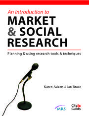 Introduction to market research