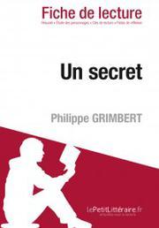 un secret de philippe grimbert fiche de lecture