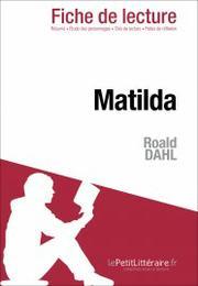 Matilda de roald dahl fiche de lecture smartlibris - Coup de gigot roald dahl texte integral ...