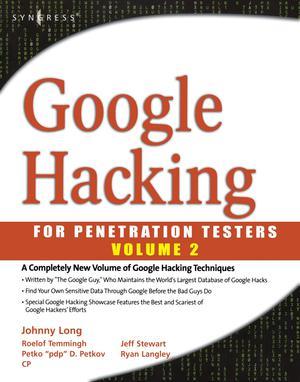 Google Hacking for Penetration Testers Volume 2 - ScholarVox