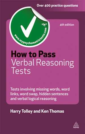 How To Pass Verbal Reasoning Tests Tests Involving Missing Words