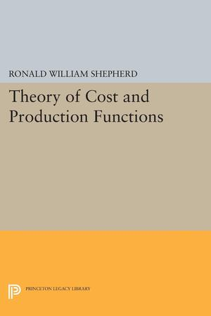 Theory of Cost and Production Functions - ScholarVox Management