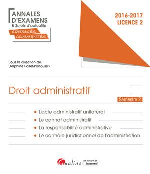 dissertation acte administratif unilatéral